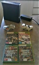Xbox 360 slim 250gb, with bonus extra controllers, and Games
