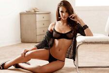 A Nicole Meyer Sexy With Black Underwear On The Floor 8x10 Picture Celebrity Pri