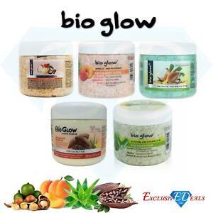Bio glow Face & Body Scrub Aloe Vera/Apricot/Macadamia Cream 300ml