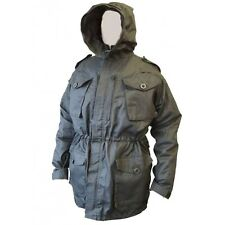 New Black SAS Army Issue Black Rip Stop Combat Tactical Smock Jacket 190/120 XXL
