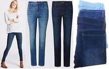 EX Zara Ladies Women Button Zip Jeans Trouser Light,Mid, Dark wash sizes 8-18