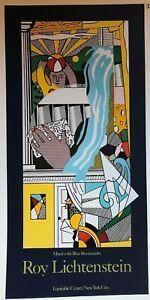 Roy Lichtenstein - Equtable Mural, NY 1986, Luna Luna, Hamberg Mini Poster C88