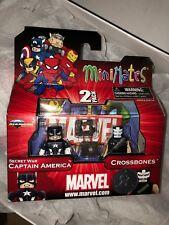 Marvel Minimates Secret War Captain America + Crossbones TRU Wave 12 infinity