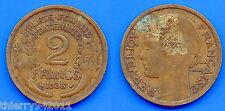 France 2 Francs 1936 Free Shipping Worldwide Franc Frcs Frc Paypal Skrill OK