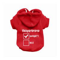 Naughty Red Dog Sweatshirt Hoodie - Dog Sweater - Dog Jumper - Dog Clothing