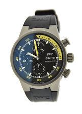 IWC Aquatimer Chronograph Automatic Titanium Watch 3719