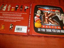 El factor K así que crees que puedes Knit? nuevo libro de HB Harry Hill/Simon Cowell Etc
