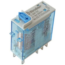 Finder 46.52.9.024.0040 Industrie-Relais 24V DC 2xUM 8A 250V AC Relay 855785