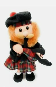 Musical Dancing Scotsman with Bagpipes Battery Powered (Scotland The Brave) Toy