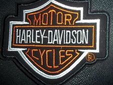 iron on patch or   harley davidson 5 x 4 inchs great for motorcicle cover