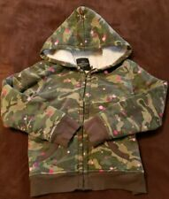 Girls 7/8 Faded Glory Fleece Jacket