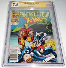 Fantastic Four vs. the X-Men #2 CGC SS Signature Autograph STAN LEE Signed Comic