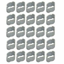 Double Ear Pipe Tube Clips Clamps Hose Fuel Clamp Hydraulic 5mm - 7mm 20pcs
