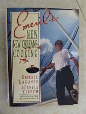 EMERIL'S NEW ORLEANS COOKING by Emeril Lagasse HC/DJ 1st Edition 1993