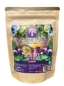 BILBERRY EXTRACT (4:1) POWDER 4X STRONGER (ANTHOCYANINS) 300G