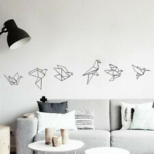 Black Simple Decal Room Wall Stickers Mural Creative Non Toxic Geometry Decal