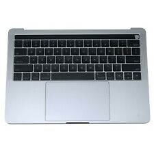 """Top case Keyboard Battery Trackpad MacBook Pro 13"""" A1706 2016 2017 Space Gray"""
