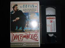 Dances With Wolves Ex Rental Big Box VHS