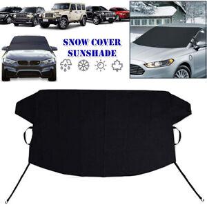Car Windshield Cover Sun Shade Protector Winter Snow Ice Rain Dust Frost Shield