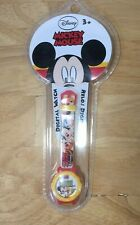 Vintage Kids Disney Mickey Mouse Wrist Watch Plastic Retro Collectible