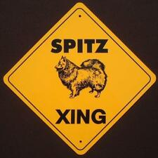 Spitz Aluminum Xing Sign dogs print picture signs novelty decor home animals