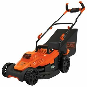 "Black and Decker BEMW472BH 15"" 10-Amp Corded Lawn Mower w/ Comfort Grip Handle"