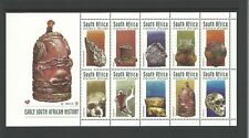 1998 Early South African History Mini Sheet  MUH/MNH As Issued Value Here