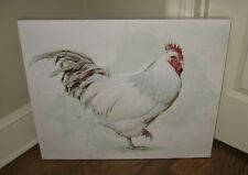 Large Canvas CHICKEN Wall PICTURE*Farmhouse Primitive/French Country/Urban Decor