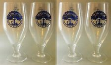 "4x 1 PINT New Symonds ""Founders Reserve"" Official Glasses, Cider, Chalice Goblet"