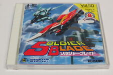 Soldier Blade PC Engine HuCard Duo-RX GT LT Japan * Brand New Sealed *