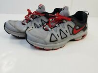 Nike Alvord 10 Trail Running Shoes Mens Size 8.5 Gray/Black/Red, EUC