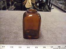 Vintage Brown Glass Snuff Bottle