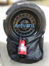 KIT roue de secours galette 17'' NISSAN QASHQAI 07-13 AVEC CRIC CLEF ET SAC