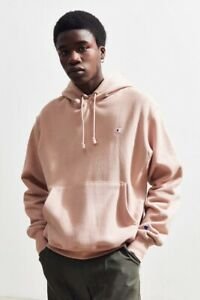 🔥Champion x Urban Outfitters UO Reverse Weave Rose Color Hoodie Pullover Size M