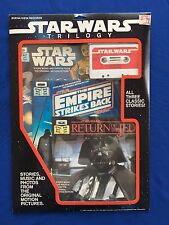 1984 Star Wars Trilogy Read Along Books & Tape Buena Vista Records Sealed