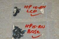 """HP 15-BN 15-BN070WM 15.6"""" Laptop Screws (Complete Set)"""