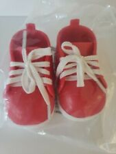 My Life As Red High Top Platform Sneakers Shoes Fit 18 American Girl Doll