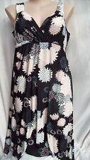 Autograph Polyester Plus Size Floral Dresses for Women