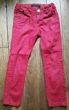 Pantalon Slim Fit Rouge IKKS 6 ans