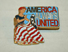New listing Betsy Ross American Flag Usa America Always United Lapel pin Free Shipping