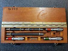 Vintage Brown And Sharpe Inside Micrometer Machinist Tool