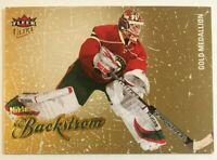 2008-09 Fleer Ultra Gold Medallion - NIKLAS BACKSTROM #165 Minnesota Wild