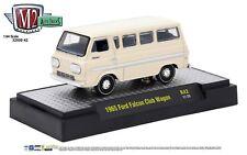 1:64 M2 Machines *AUTO-TRUCKS R42* White 1965 Ford Falcon Club Wagon NIB!