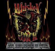 Whiskeydick-Bastards Sons of Texas CD NEUF