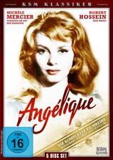 Angelique - Die Komplette Filmreihe  [5 DVDs]