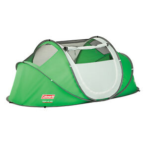 Coleman 2-Person Instant Pop-Up Tent Canopy Shelter Portable Outdoor Camping New