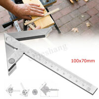 4'' Centering Square Precision Gaging Center Gauge Round Bar Marking Finder Tool