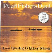 """Jussi Bjöerling & Robert Merrill - Pearl Fishers Duet - 7"""" Record Single"""