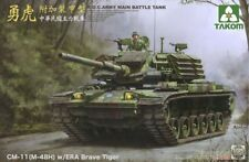 Takom (三花) 1/35 R.O.C. Army MBT CM-11 (M-48H) w/ERA Brave Tiger #2091 *New*