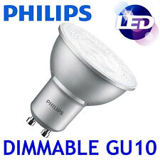 Philips Master Led 4.3 W Regulable Gu10 Blanco Frío 4000k Luz Spot Reflector Bombilla